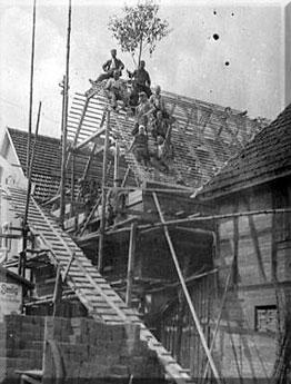 1937: Geschäftseröffnung in Auenstein