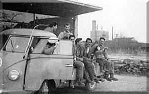 1958: Unser Team in Steinheim